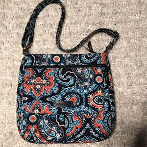 Vera Bradley bag in Marrakesh blue & orange